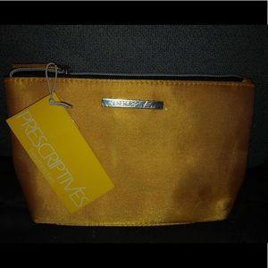 NWT Prescriptive's Yellow Makeup Bag